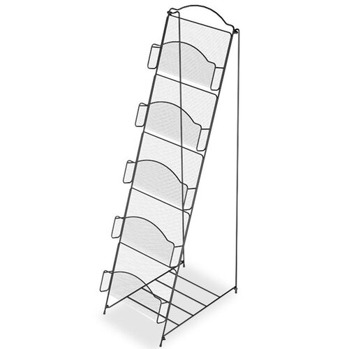 Safco Products Company 5 Pocket Floor Rack