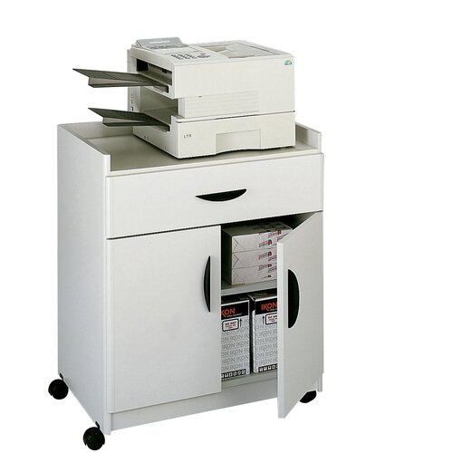 Safco Products Company Mobile Machine Stand with Pullout Drawer
