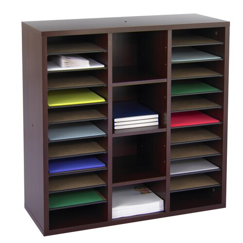 Safco Products Company Apres Modular Storage Literature Organizer