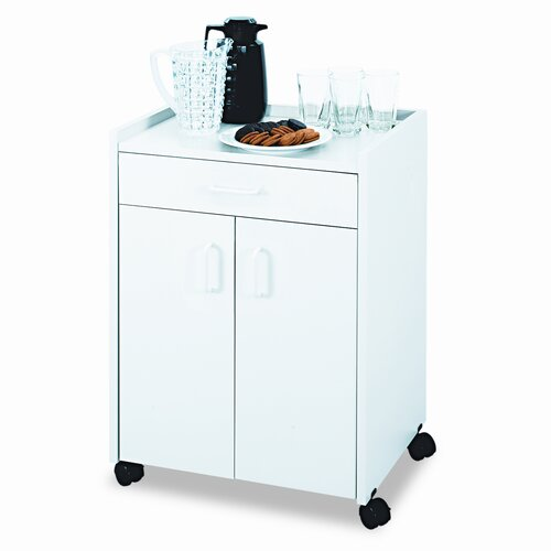 "Safco Products Company 30.75"" Mobile Refreshment Center"
