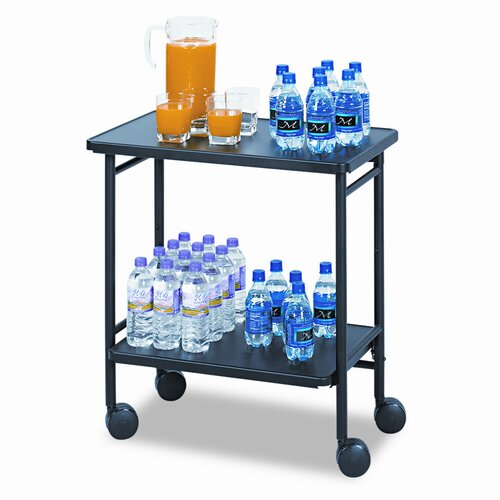 "Safco Products Company 30"" Folding Office/Beverage Cart"