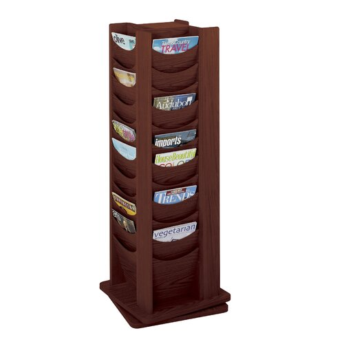 Safco Products Company Rotary Display, 48 Compartments