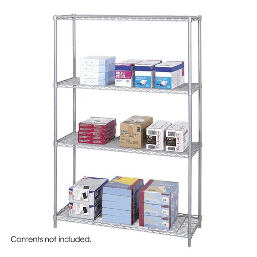 "Safco Products Company Industrial 72"" H Shelving Unit Starter"