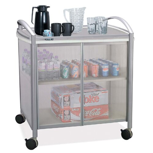 """Safco Products Company Impromptu 36.5"""" Refreshment Cart"""