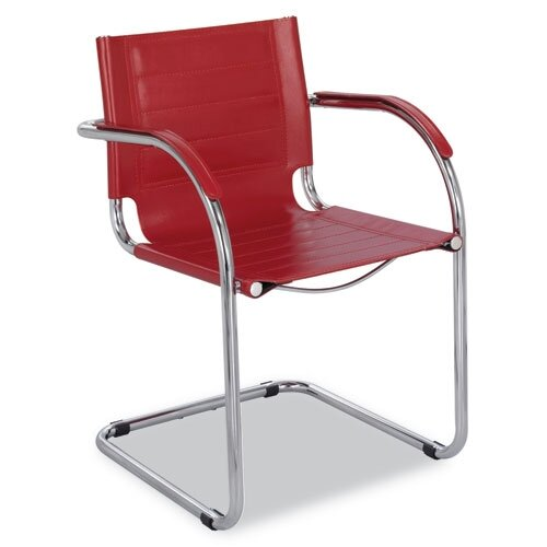 Safco Products Company Flaunt Leather Guest Chair