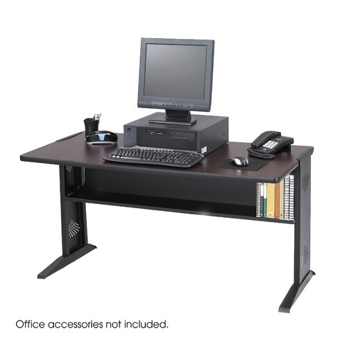 Safco Products Company Computer Desk with Reversible Top