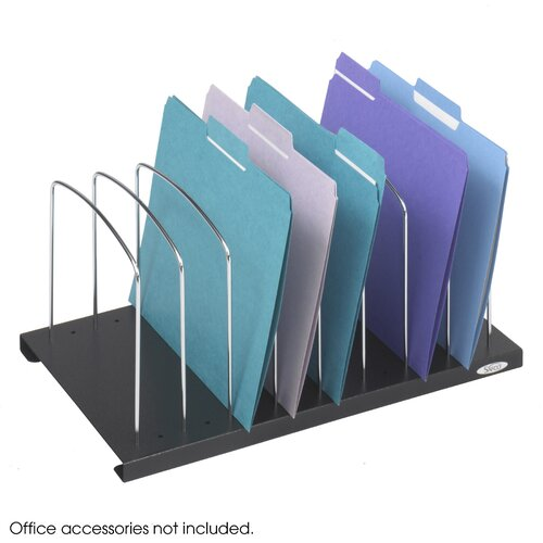 Safco Products Company Wire Slanted Vertical Organizer
