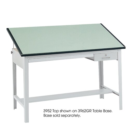 "Safco Products Company Precision Drafting Rectangular Table Top, 60"" Wide"