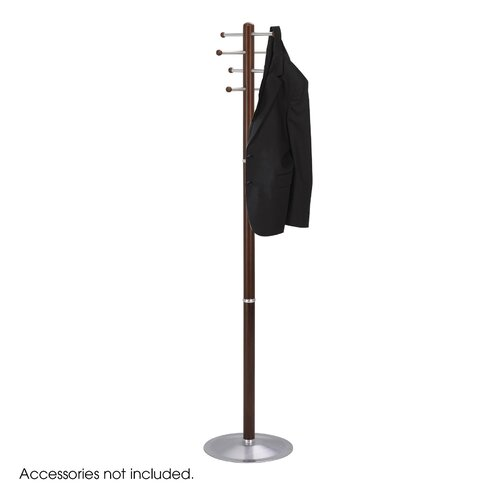 Safco Products Company Wood Coat Rack