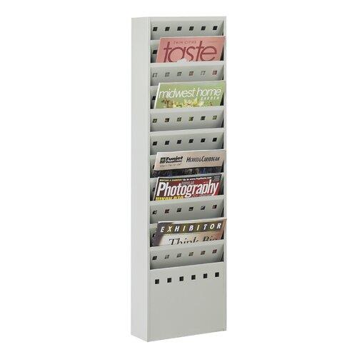 Safco Products Company 11 Pocket Magazine Rack