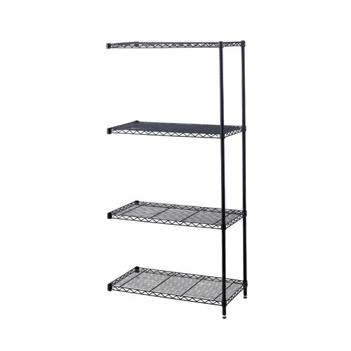 "Safco Products Company Industrial Wire Add-On Unit (48"" x 18"" Shelves)"