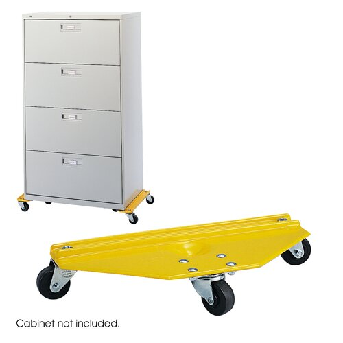 Safco Products Company Cabinet Mover Furniture Dolly