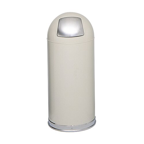 Dome Round Receptacle with Spring-Loaded Door