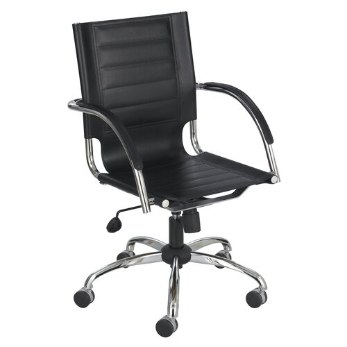 Safco Products Company Flaunt Series Mid-Back Managerial Chair