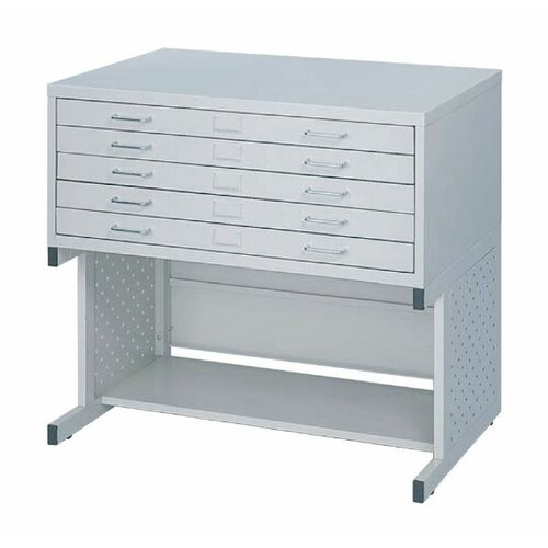 Safco Products Company Facil High Base File Filing Cabinet