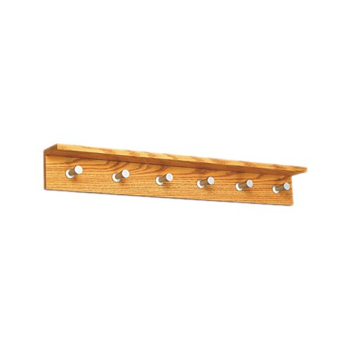 Safco Products Company Contempo Wood Coat Rack with 6 Hooks
