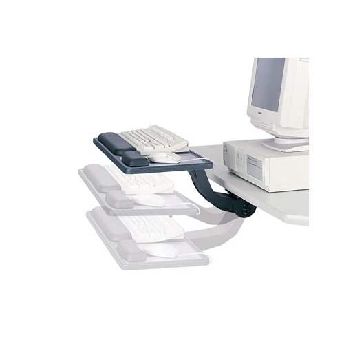 Safco Products Company Sit/Stand Articulating Keyboard/Mouse Arm