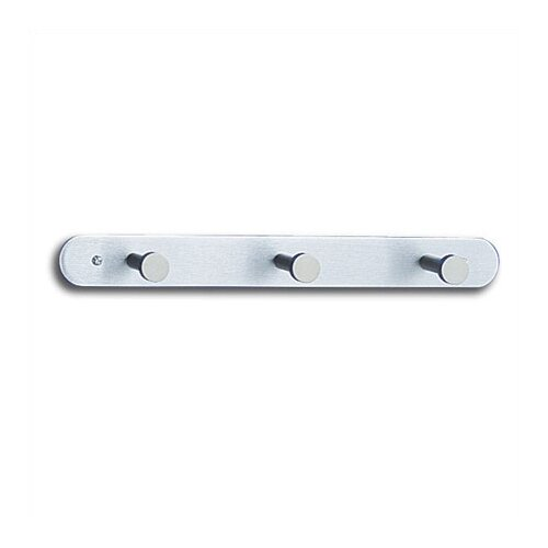 Safco Products Company Nail Head Coat Rack with 3 Hooks