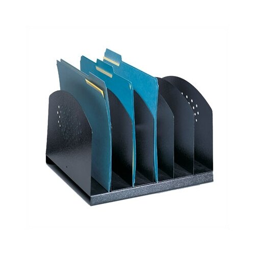 Safco Products Company Six Section Steel Desk Rack