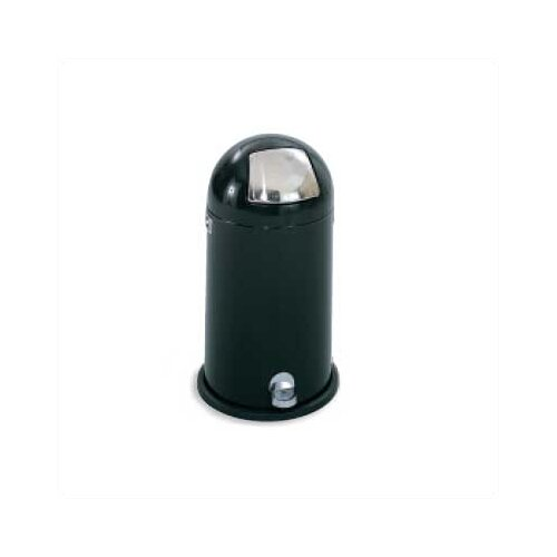Step-On Dome Round Receptacle, 12 Gal