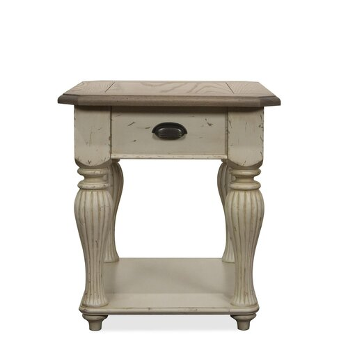 Riverside Furniture Coventry Two Tone End Table