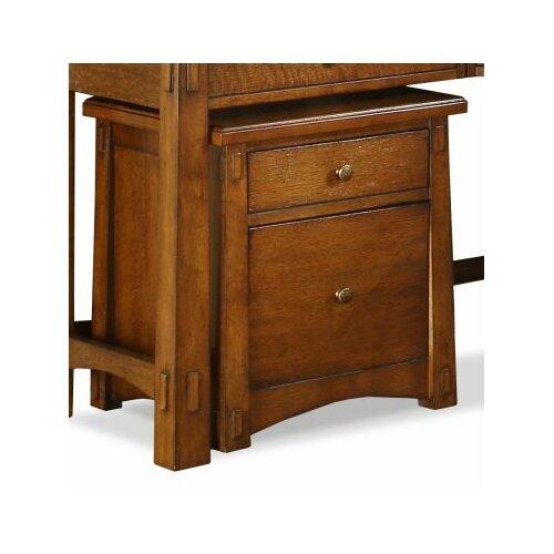 Craftsman Home 2-Drawer Mobile File Cabinet