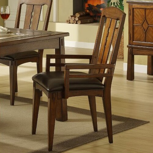 Craftsman Home Arm Chair (Set of 2)