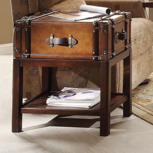Riverside Furniture Latitudes Suitcase Chairside Table