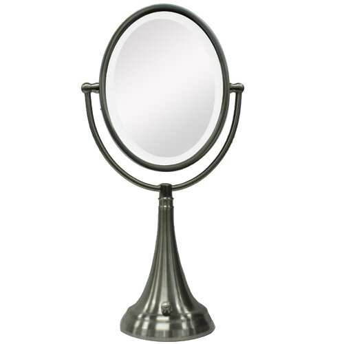 Vanity Lights For Oval Mirror : Zadro Oval Vanity Mirror with LED Surround Light & Reviews Wayfair