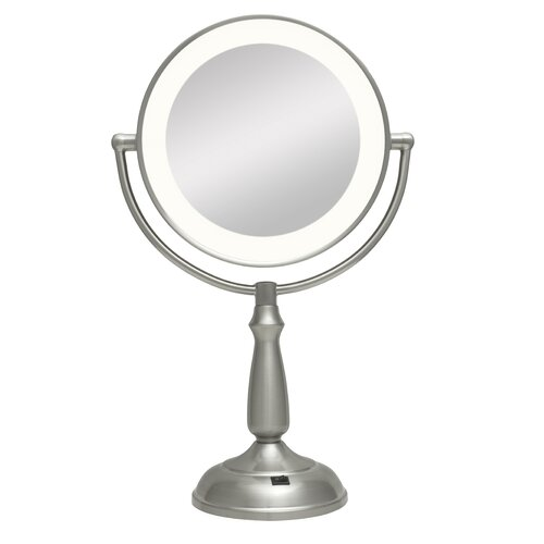 Dual-Sided LED Lighted Vanity Mirror