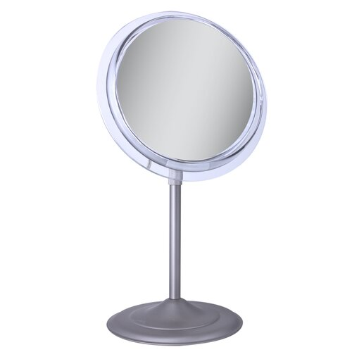 Surround Light Vanity Mirror with 7X Magnification