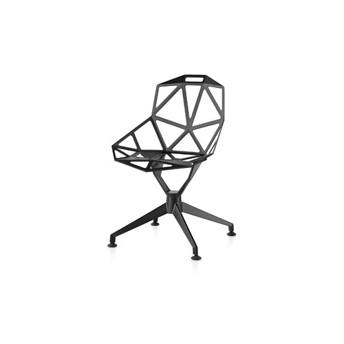 Magis Chair_One Chair with 4 Star Base