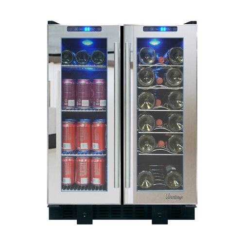 36 Bottle Dual Zone Built-In Wine Refrigerator