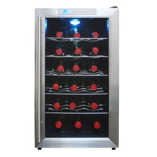 Vinotemp 18 Bottle Single Zone Thermoelectric Wine Refrigerator
