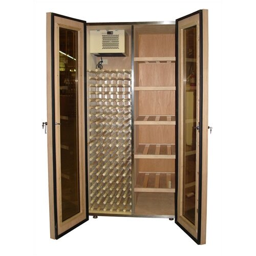 Vinotemp 200 Bottle Dual Zone Wine Refrigerator