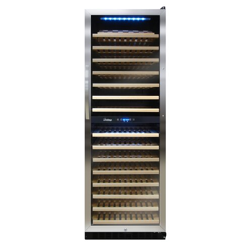 155 Bottle Dual Zone Wine Refrigerator