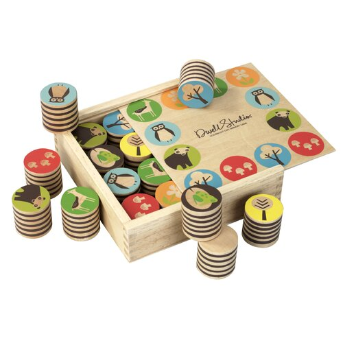 DwellStudio Woodland Memory Game