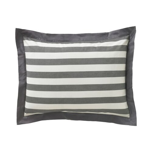DwellStudio Graphic Stripe Ink Standard Shams