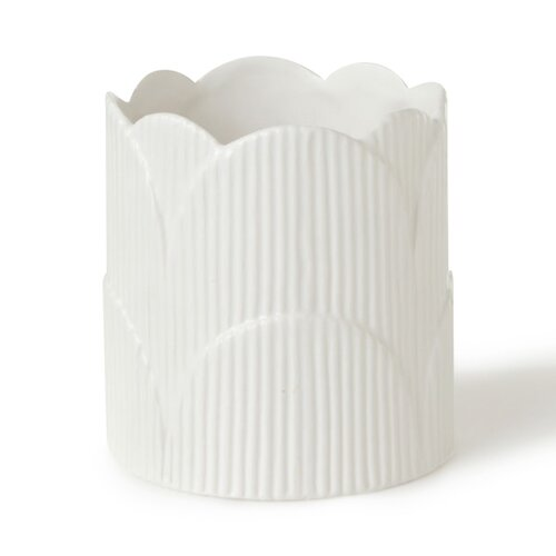 DwellStudio Scallop Vase