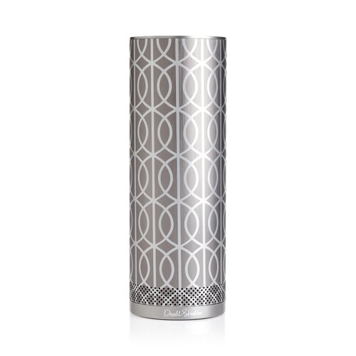 DwellStudio DwellStudio for Stellé Audio Pewter and Silver Bluetooth Speaker