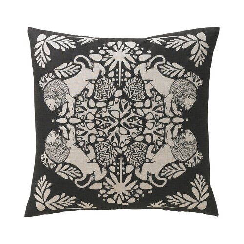 DwellStudio Lion Ink Pillow