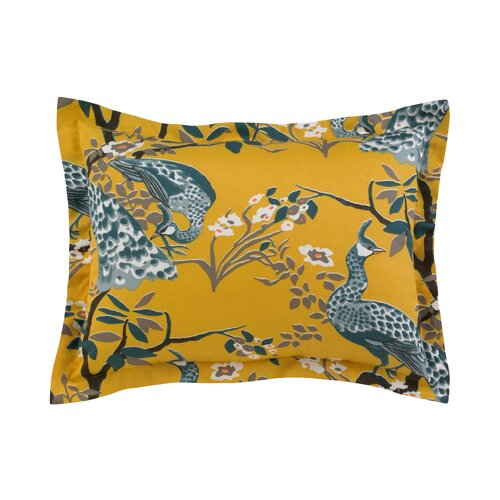 DwellStudio Peacock Citrine Sham (Set of 2)