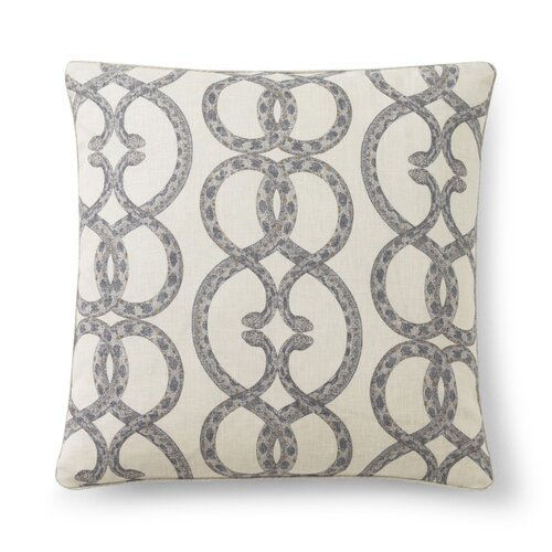 DwellStudio Snake Chain Dove Pillow