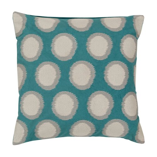 DwellStudio Fiore Aqua Pillow