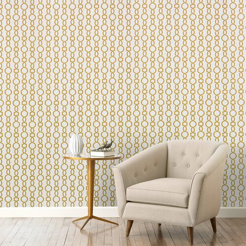 DwellStudio Twist Citrine Wallpaper