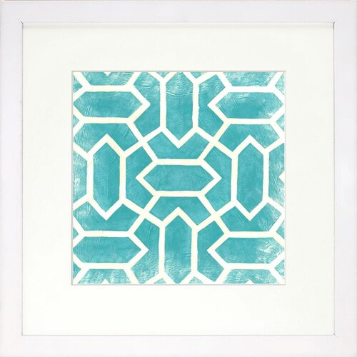 DwellStudio Graphic Pattern Azure Artwork
