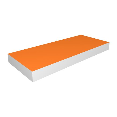 DwellStudio Tangerine Floating Medium Shelf