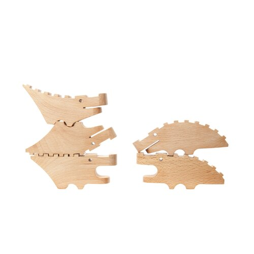 DwellStudio Carved Crocodile (Set of 5)