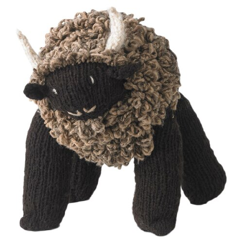 DwellStudio Buffalo Plush Toy