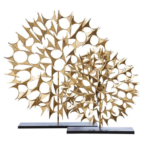 DwellStudio Cosmos Sculpture Gold